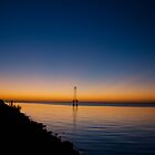 Dawn over Pensacola Bay by matt1960