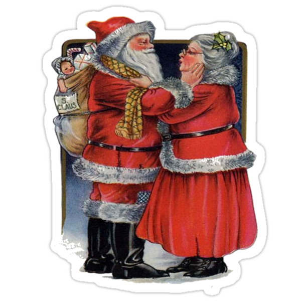 Christmas Greetings from Mr and Mrs Claus by taiche