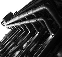 Lloyd's building V by jimmyzoo