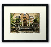 Grand Entrance Framed Print