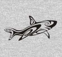 Tribal shark design. by Warlock85