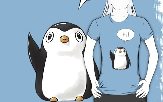 Hi Penguin by freeminds