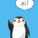 Hi Penguin by freeminds