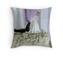 To The Happy Couple Throw Pillow