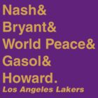 2012-2013 LA Lakers Jetset by RiceRemix