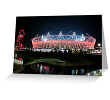 Olympic Stadium in Stratford Greeting Card