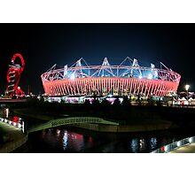 Olympic Stadium in Stratford Photographic Print