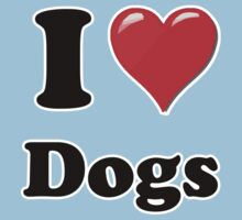 I Heart Dogs by HighDesign