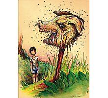 Simon and the Beast Photographic Print