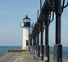 South Haven Pier Light by BiggerPicture