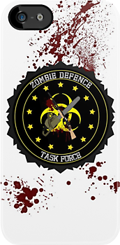 zombie defence Task Force by DesignStrangler