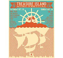 Treasure Island Music Festival Poster Photographic Print