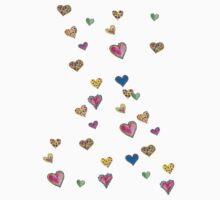 Falling hearts by Anne Seltmann