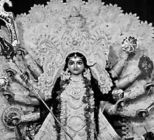 May the Goddess Durga banish all evil from your life! by Antony Pratap