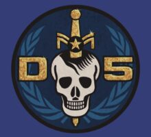 Danger 5 Emblem (Pocket) by Danger Store