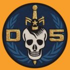 Danger 5 Emblem (Chest) by dinostore