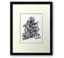 The Monster Years Framed Print