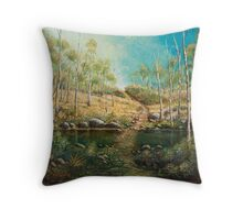 EAST COAST LANDSCAPE Throw Pillow
