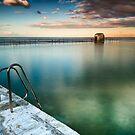 Merewether Pool by Michael Howard