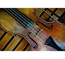 """""""Let life be like music."""" Photographic Print"""