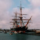 HMS Warrior by suewen