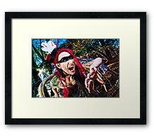 Screamer Framed Print