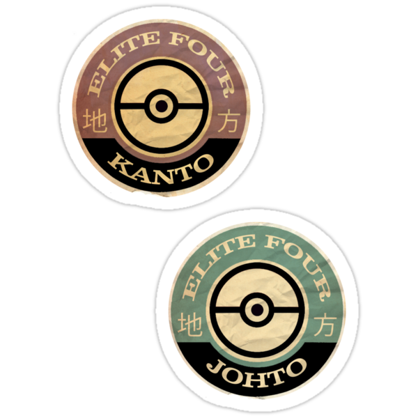 KANTO AND JOHTO - Gaming Luggage Labels Series by A.J.  Hateley