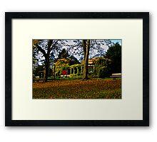 The Sun Pavilion in Autumn Framed Print