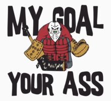 Funny Hockey Goalie by SportsT-Shirts