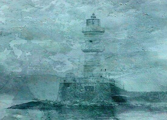 Lighthouse Impasto by Sarah Vernon