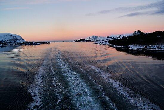 Fjord, Norway by fg-ottico