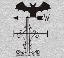 Haunted Mansion Bat Weather Vein by Topher Adam for Hugs & Bitchslaps by TopherAdam