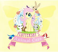 Fluttershy's Animal Care Photographic Print