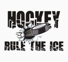 Hockey by SportsT-Shirts