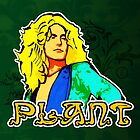 Robert Plant (Print Version) by Rodrigo Marckezini