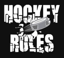Hockey Rules by SportsT-Shirts
