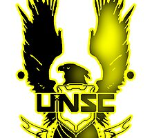 UNSC Yellow Fade Yellow by Jslayer08