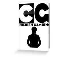Childish Gambino Greeting Card