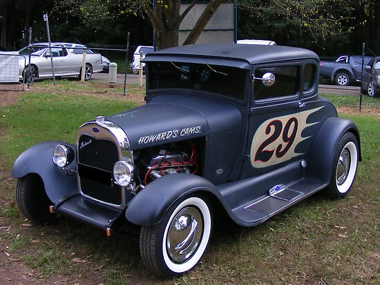 Ford Hot Rod  by Russell Voigt