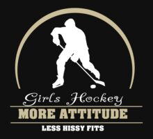 Girls Hockey by SportsT-Shirts