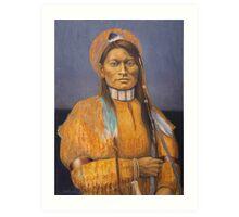 Cheyenne Scout,  Mie Ni-iv,  Art Print