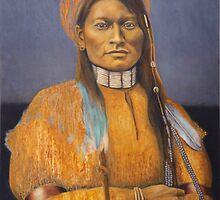 Cheyenne Scout,  Mie Ni-iv,  by jane lauren