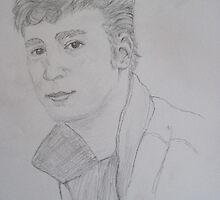 Young John Lennon by DebbyNoelle