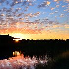 Sunrise over B'darra by Norm Tilley