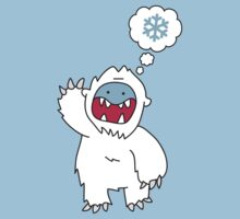 Snow Monster by gillianjaplit