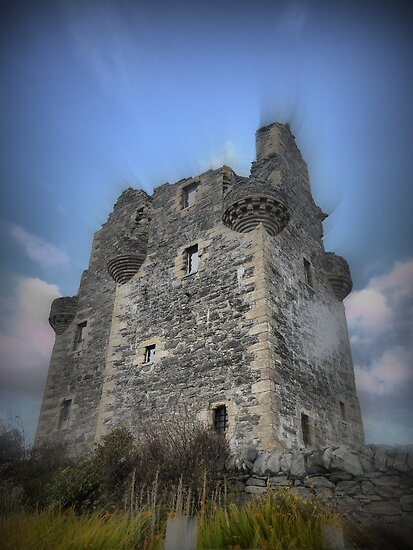 Scalloway Castle ( 1 ) by cullodenmist