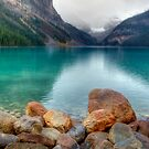 A View of Lake Louise by Keri Harrish