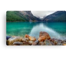 A View of Lake Louise Canvas Print