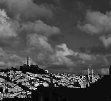 Clouds over San Francisco by fototaker