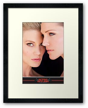 Tricia Helfer and Katee Sackhoff by Dennys Ilic Photography by actingoutlaws